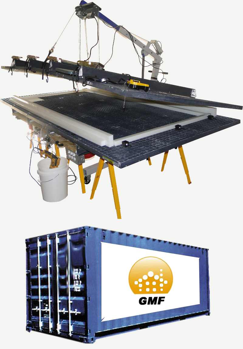 Sip panel building system universal sip panel press for Panel house construction