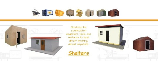 Build Disaster Relief Shelters
