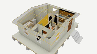 Shelter kit to create shelters that out perform any other for Sip panel kit homes